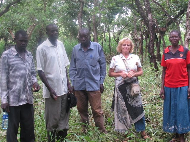 The 3 men in this photo are all pastors in their village and are currently completing pastorial training in Gulu town.
